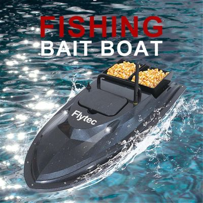 High Quality Flytec RC boat Smart RC Electric Fishing Boat Ship For Fishing 500M Remote Bait Boat Double Motor Boat Fishing