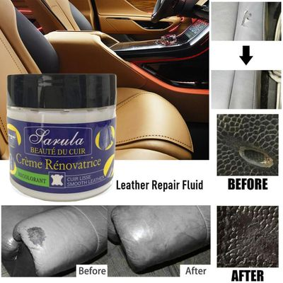 High Quality Car Care Leather Repair Cream  Filler Compound For Leather Restoration Cracks Burns & Holes  car accessories