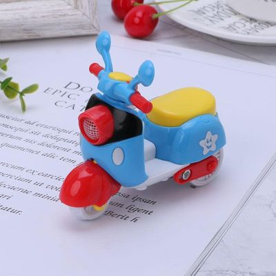 1pc Baby Inertia Mini Plastic Simulation Motorcycle Car Toys for Children Kids Early Learning Funny Birthday Gifts