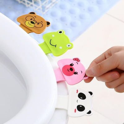 1pcs portable Toilet Seat Lifters convenient to Toilet lid device is mention Toilet potty ring handle home Bathroom products set