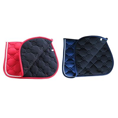 Horse Saddle Pad Breathable Sweat-absorbent Equestrian Bareback Horse Riding Pad Equestrian Back Pad Horse Riding Accessories