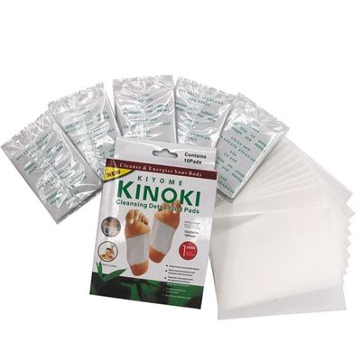 10 pcs NEW KINOKI Detox Foot Pads Foot Patch Gold Color Detox Patch Foot Care Tool Safety Freeshiping and Dropshiping