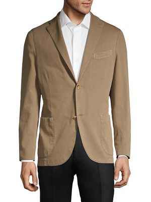 Boglioli Standard-Fit Stretch-Cotton Sportcoat