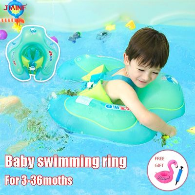 Relaxing Safety Swimming Ring for 6-30 Months Baby Swim Float Children's Waist Floats circle Kids Pool Toys Bathing Accessories