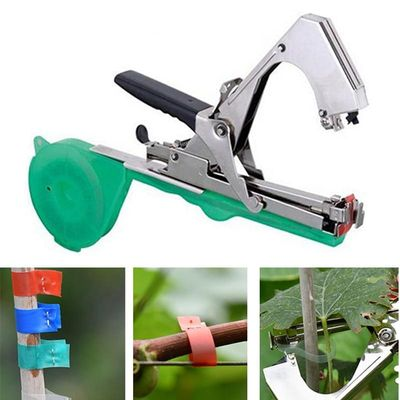 Nursery Vine Grape Tomato Strap Tape Trunk Stake Tool fruit Bind Hand tying Stem muscadine cucumber Tapetool Tapener Branch