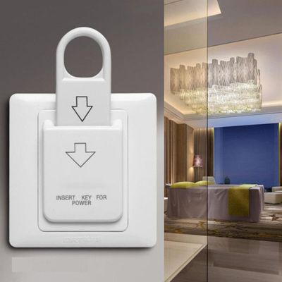 Good Quality Hotel Magnetic Card Switch energy saving switch Insert Key for power
