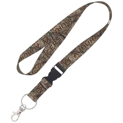 Auburn Tigers WinCraft Camo Lanyard with Detachable Buckle