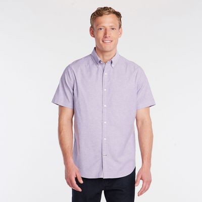 Nautica Short Sleeve Oxford Shirt