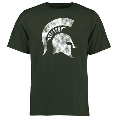 Michigan State Spartans Big & Tall Classic Primary T-Shirt - Green