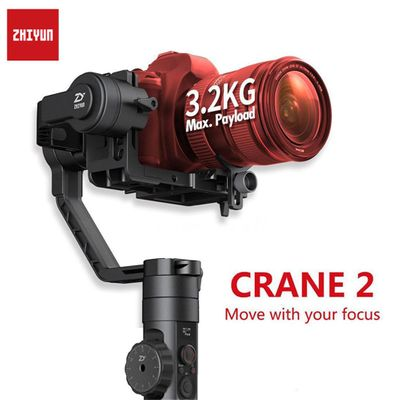 Zhiyun Crane 2 3-Axis Handheld Gimbal Video Camera Gyro Stablizer Brushless and Parts For Canon For Nikon For DSLR Camera Load