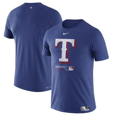 Texas Rangers Nike Authentic Collection Performance T-Shirt - Royal