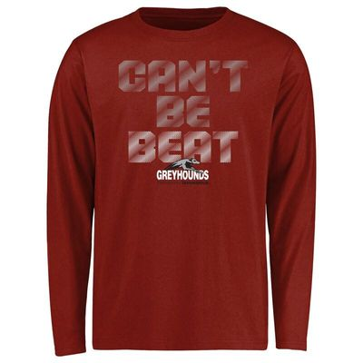 Indianapolis Greyhounds Youth Can't Be Beat Long Sleeve T-Shirt - Cardinal