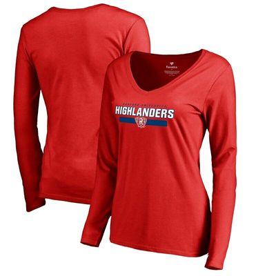 Radford Highlanders Women's Team Strong Long Sleeve T-Shirt - Red