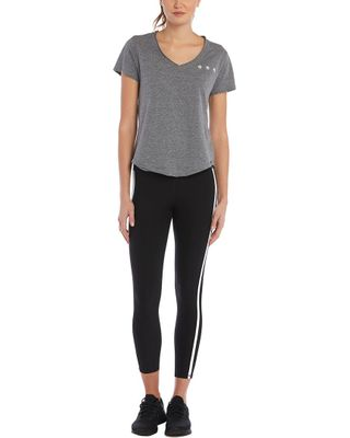 X by Gottex Sporty Double Line Ankle Legging Tummy