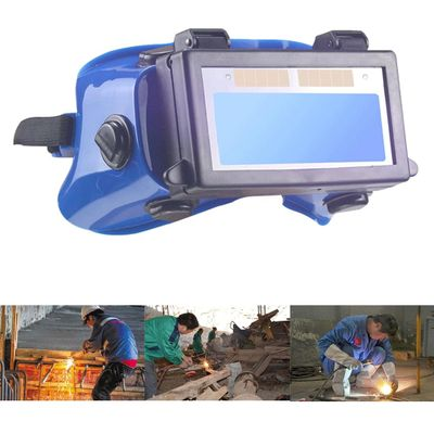 Soldering Shield Goggles Safety Cover Protective Glasses Helmet Lens Automatic Dimming Welding Mask Portable Solar Powered Guard