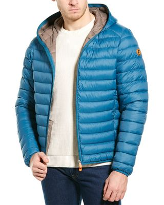 Save The Duck Basic Hooded Jacket