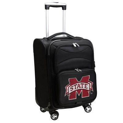 Mississippi State Bulldogs 21In Spinner Carry-On - Black