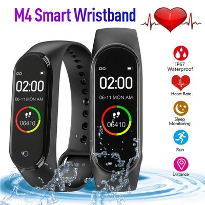 M4 Smart band fitness tracker sport smart band heart rate blood pressure Monitor smartband pedometer waterproof bracelet