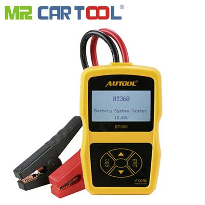 AUTOOL BT360 Car Battery Tester Analyzer Digital 12V Auto Automotive Diagnostic Batterys Analyzer CCA BT-360
