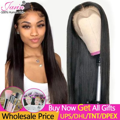 Jarin 13x4 13x6 Lace Front Human Hair Wigs 30 32 inch Straight Human Hair Wigs 150% Lace Frontal Wig Pre Plucked With Baby Hair