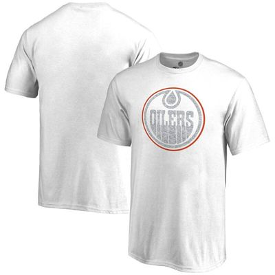 Edmonton Oilers Youth Whiteout T-Shirt - White