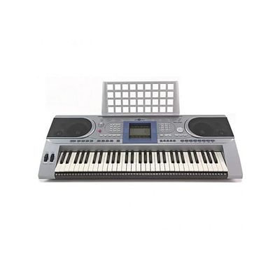 L 61 Keys Keyboard With Adaptor And Keyboard Stand