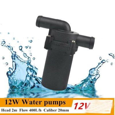 12V 24V 12W Car Water Pumps Automatic Strengthen A/C Heating Accelerate Water Circulation Pump Winter Auto Heat A/C Temp