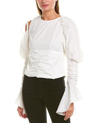 Beulah Ruched Blouse