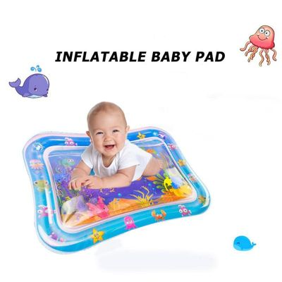 Summer inflatable water mat for baby Toddler Fun Activity Play Toy for Motor Skills Necessary Baby Inflatable Water Play Gadgets