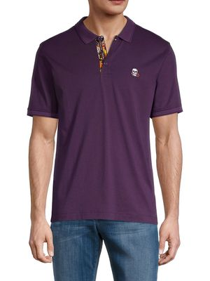 Robert Graham Short-Sleeve Cotton Polo