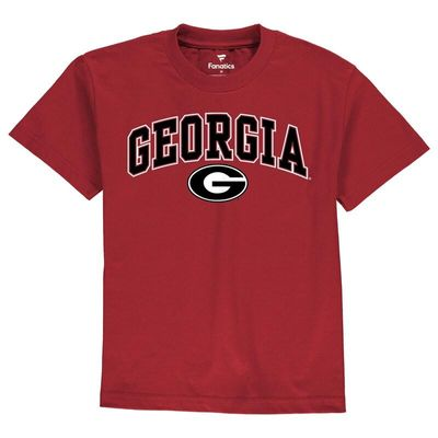 Georgia Bulldogs Youth Campus T-Shirt - Red