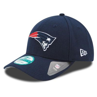 New England Patriots New Era Youth League 9FORTY Adjustable Hat - Navy
