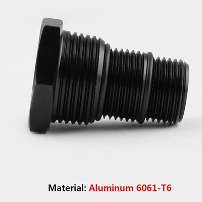 Vehemo 1/2-28 Oil Filter Threaded Adapter Car Automotive Oil Filter Thread for Durable Connector Refit Tool