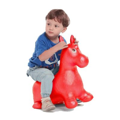 Inflatable Jumping Horse Ride on Bouncy Hopper Toys Extra Thickness Toy for Kids Random Color