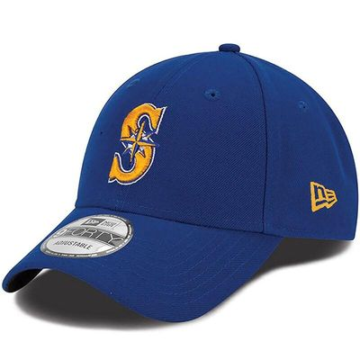 Seattle Mariners New Era Men's League 9FORTY Adjustable Hat - Royal