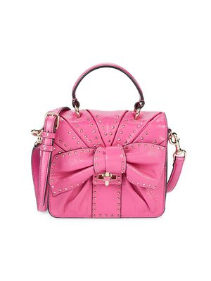 Valentino Garavani Bow Leather Crossbody Bag