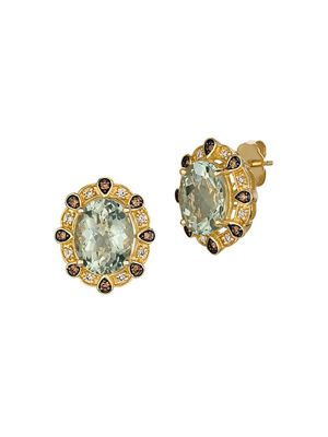 Le Vian 14K Honey Gold & Nude Diamond Stud Earrings