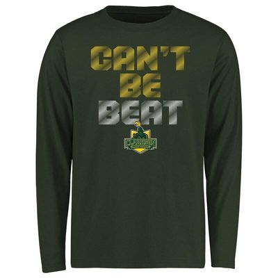 Clarkson Golden Knights Youth Can't Be Beat Long Sleeve T-Shirt - Green