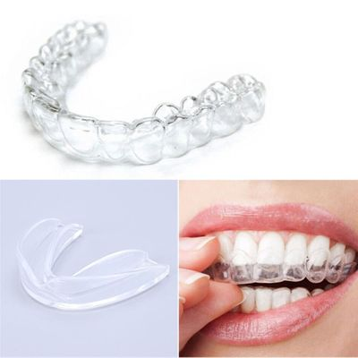 Mouth Guard Transparent Night Guard Gum Shield Mouth Trays for Bruxism Teeth Whitening Grinding Boxing Teeth Protection
