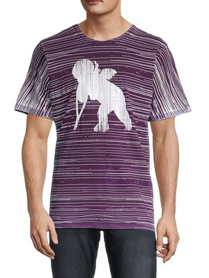 Prps Striped & Graphic T-Shirt