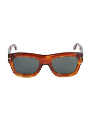 Tom Ford 52MM Square Sunglasses