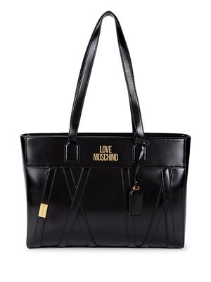 Love Moschino Faux Leather Tote