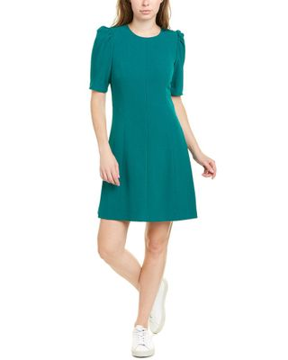 Eliza J Puff Sleeve Shift Dress