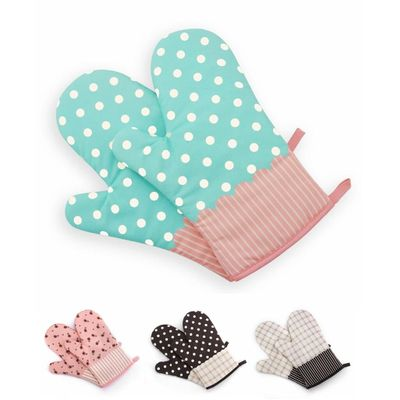 1 pcs good quality Cute Kitchen Cooking Microwave Oven Mitt Insulated Non-slip Glove Thickening High Temperature Oven Glove