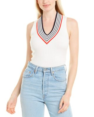 Minnie Rose Ribbed Tank