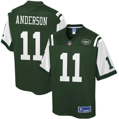 Robby Anderson New York Jets NFL Pro Line Player Jersey - Green