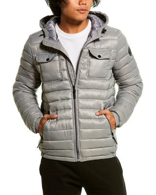Kenneth Cole New York Hooded Packable Jacket