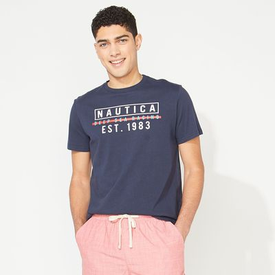 Nautica Deep Sea Racing Graphic T-shirt