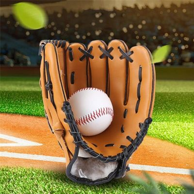 Outdoor Sports Equipment Three Colors Softball Practice  Equipment  Baseball Glove For Adult Man Woman