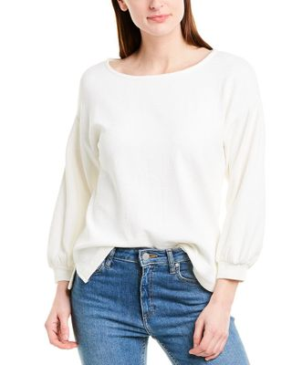 J.Crew Crinkled Balloon-Knit Top